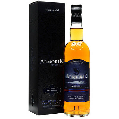 Armorik Double Maturation Breton Single Malt Whisky 700mL