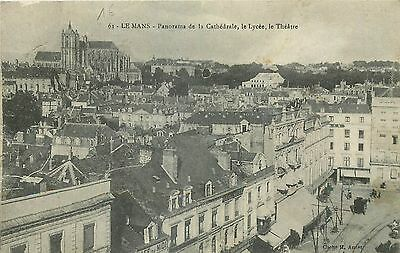 72 Le Mans Panorama Cathedrale Lycee Theatre