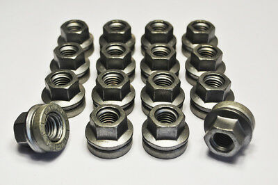 M14 x 2, 21mm Hex Alloy Wheel Flat Seated Nuts for Ford Transit. Set of 16.