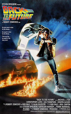 """Back to the Future ( 11"""" x 17"""" ) Movie Collector's Poster Print - B2G1F"""