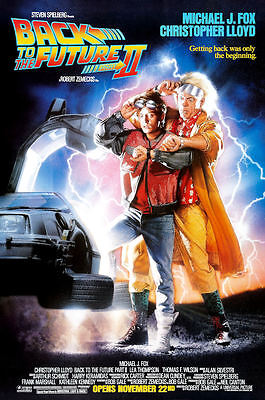 "Back to the Future 2 ( 11"" x 17"" ) Movie Collector's Poster Print - B2G1F"
