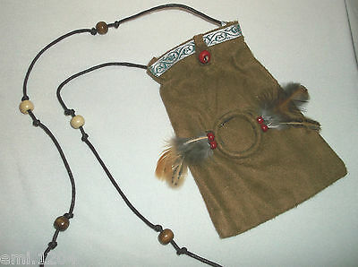 Red Indian Coin Pouch / Bag