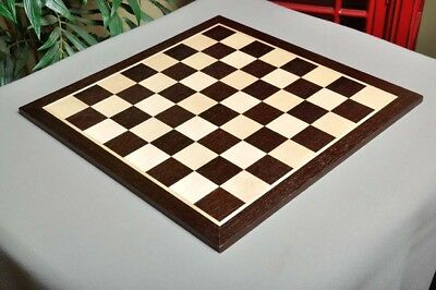 """USCF Sales African Palisander & Maple Wooden Chess Board - 2.5"""""""