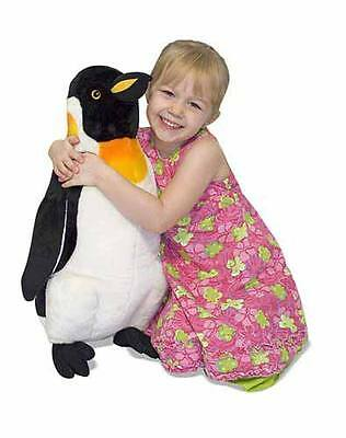 Melissa And Doug Large Cuddly Plush Penguin  60Cm Top Quality Lifelike Brand New