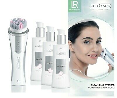 LR ZEITGARD Cleansing Device Soft + Cleansing System Cream 3x125 ml 12,67€/100ml