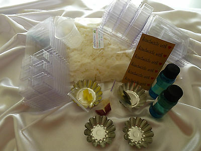 Melts - Tarts Soy Wax Kit, Candle Making all you need for Professional Results.