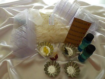 Melts-tarts soy wax kit, candle making all you need for professional results. L3