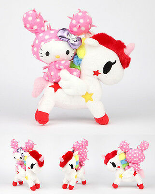 "Sanrio Authentic Hello Kitty Tokidoki Pony Unicorno Plush 8.5"": Rare"