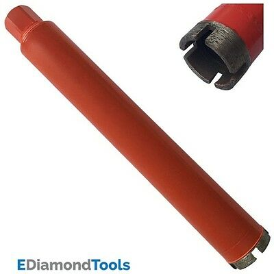 "1-1/8"" Wet Diamond Core Drill Bit for Concrete Granite Coring 5/8""–11 Arbor"