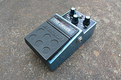 1980s Maxon OD-01 The Driver Distortion/Overdrive MIJ Japan Effects Pedal