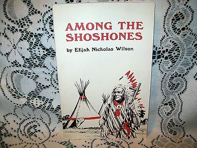 AMONG THE SHOSHONES by ELIJAH WILSON~SOFTCOVER~TRUE ACCOUNT LIFE AMONG INDIANS