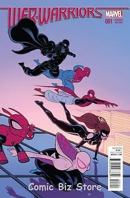 Web Warriors #1 (2015) 1St Printing Scarce 1:25 Moore Variant Cover Spider Verse