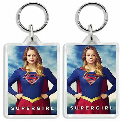 Supergirl Tv Show 2016 Keyring *great Gift* Uk Seller