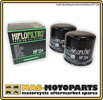 HI-FLO OIL FILTER 2 PACK FOR TRIUMPH 800 Bonneville 2005 to 2006