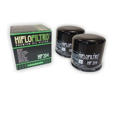 HI-FLO OIL FILTER 2 PACK FOR KAWASAKI ATV KVF700 Prairie 4x4  2004 to 2006