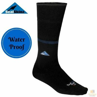 SEALSKINZ Waterblocker Socks Waterproof Hiking Canoeing Kayaking Trekking New