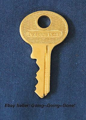 Vintage Master Lock M1 Cut Key #2071 Fits Master Lock 1 2 5 6 And 77 Padlocks