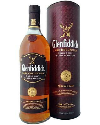Glenfiddich Reserve Cask Single Malt Scotch Whisky BIG 1000ml