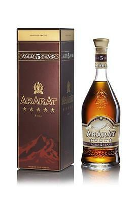 Ararat 5 Year Old Armenian Brandy 700ml