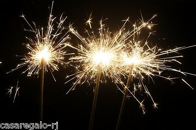 120 Piece 25cm Sparklers Party Sparler for Birthdays Parties Wedding Venues