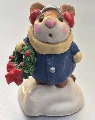 Wee Forest Folk  M-087 Holly Mouse