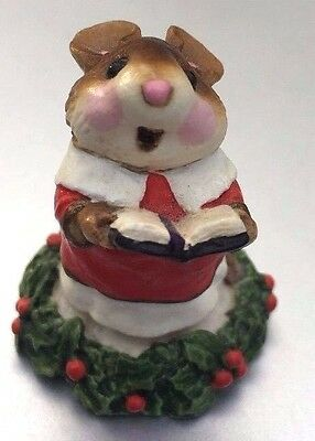 Wee Forest Folk M-147 Choir Mouse - US Seller , NEW IN BOX - Ships SAME day