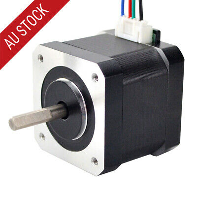 Nema 17 Stepper Motor 45Ncm 1m Cable CNC Reprap Prusa Mendel Makerbot 3D Printer