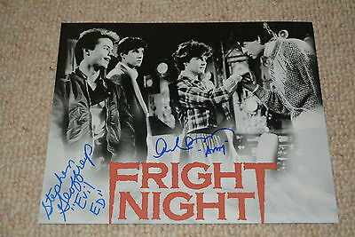 AMANDA BEARSE + STEPHEN GEOFFREYS signed Autogramm In Person 20x25  FRIGHT NIGHT