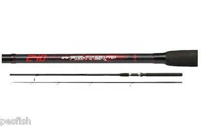 Caña de Pesca DAM Fighter Pro Spin 2.40m 10-40gr carbono composite spinning rod