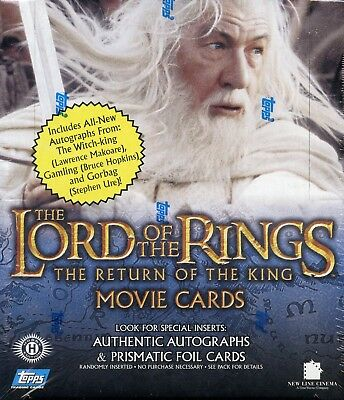 Lord of the Rings Return of the King Second Edition WAX BOX CARDS CARD