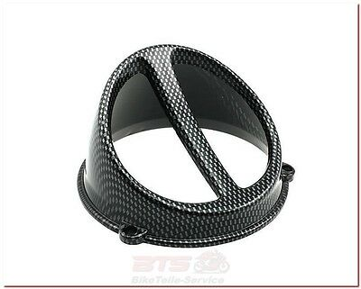 Lüfterspoiler Air Scoop Carbon-Look-universal-CPI OLIVER E2, FREAKY, ARAGON, OLI