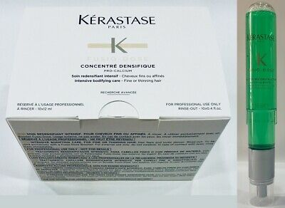 Concentre Densifique 10 X 12ML + Booster Reconstruction 120ML Kerastase