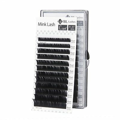 Blink BL Lashes Mink Lash Mixed Length B, C, D, J curl Eyelash Extensions