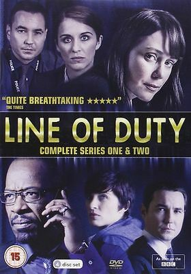 LINE OF DUTY - Complete Series 1 & 2 Collection Boxset (NEW DVD)