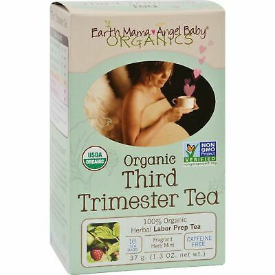 Earth Mama Angel Baby Third Trimester Tea - 16 Tea Bags 2 Pack