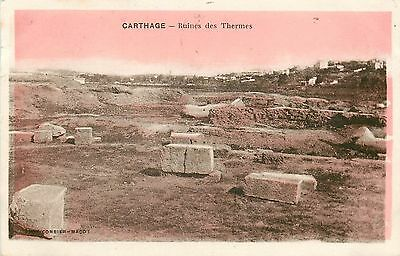 Tunisie Carthage Ruines Thermes