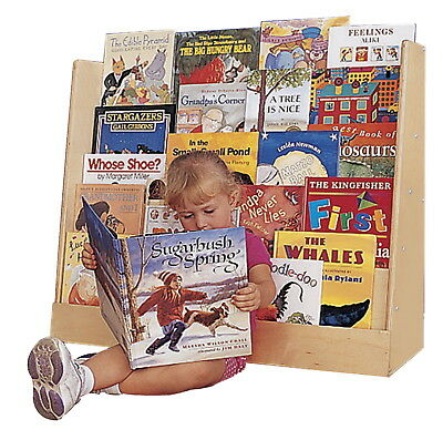 Childcraft 5-Shelf Book Display with Shelves, 36 W x 12 D x 29 H in
