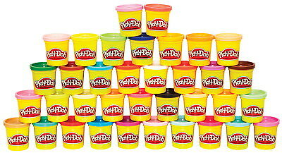 Hasbro Play-Doh Modeling Clay Mega Pack, 3 oz, Pack of 36