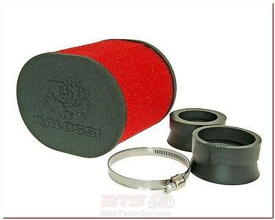 Luftfilter Malossi E15 oval 42-50-58,5mm-Peugeot XPS, 103, Speedfight 3, XR6, Sq