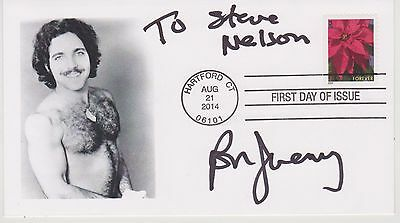 Signed Porn Star Ron Jeremy Fdc Autographed First Day