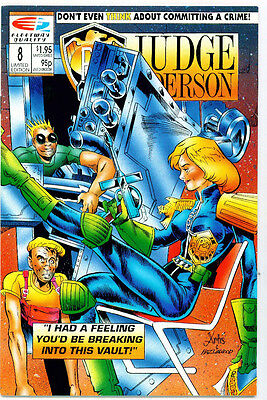 <•.•> PSI-JUDGE ANDERSON • Issue 8 • Quality Comics