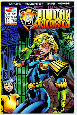 <•.•> PSI-JUDGE ANDERSON • Issue 14 • Quality Comics