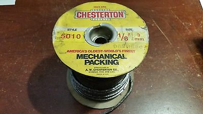 "CHESTERTON 5010 MECHANICAL PACKING 1/8"" 3mm"