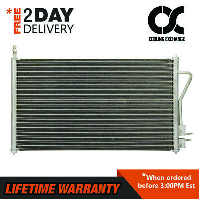 4938 New Condenser For Ford Focus 2000 - 2005 2.0 2.3 L4 Lifetime Warranty