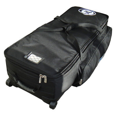 Protection Racket 38in x 16in x 10in hardware case wheels & retractable handle