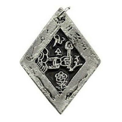 "Sigil of Discovering Treasures Amulet Talisman Wicca Pagan 1.5"" Necklace Pendant"