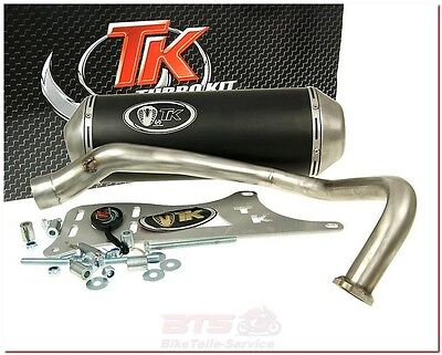 Auspuff Turbo Kit GMax 4T-Kymco Dink Bet & Win, Yager/Spacer 12 Zoll, Yager/Spac