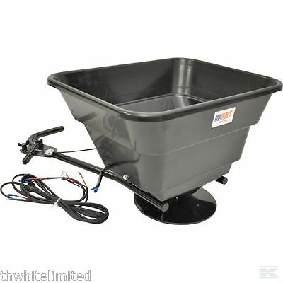 Atv Quad Mounted Spreader Fertilizer Sand Seed 12V 43.5L (Ff)