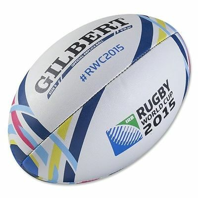 Gilbert RWC 2015 Replica Rugby Ball Size:5