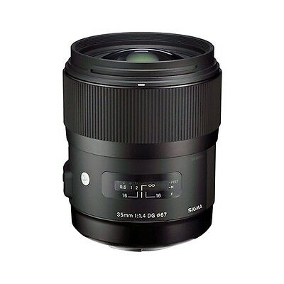 Sigma 35mm f/1.4 DG HSM Art Lens for Canon Digital SLR Cameras - NEW